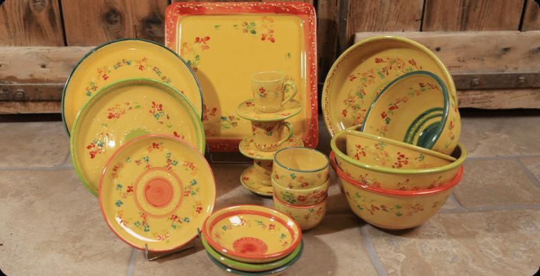 terre et provence Collection de vaisselle en céramiqu